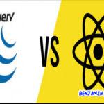 Perbedaan antara jQuery dan React 2021